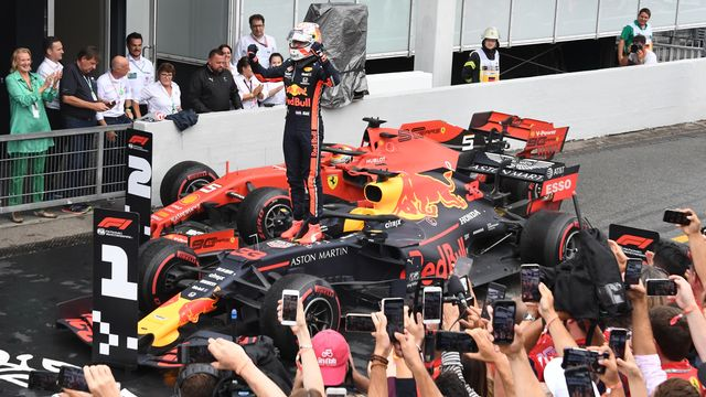 Max Verstappen signe la 7e victoire de sa carrière. [Uli Deck - Keystone]
