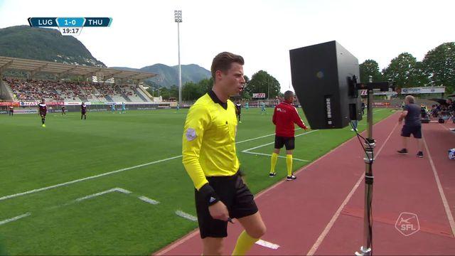 2e journée, Lugano - Thoune (0-0): match nul et un but annulé pour Lugano [RTS]