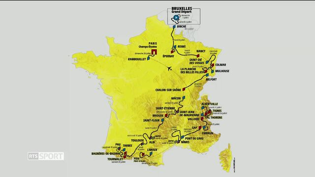 Cyclisme: retour sur le Tour de France [RTS]