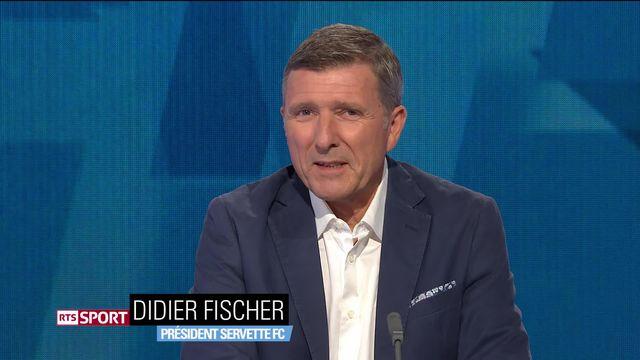 Football: Super League, Didier Fisher au micro de la RTS [RTS]