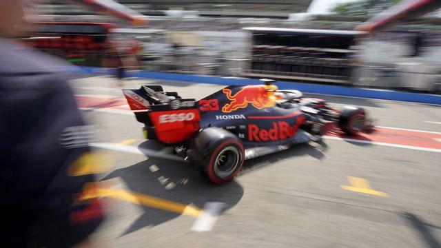 Verstappen a fêté dimanche son 2e succès de la saison. [Ronald Wittek - Keystone]