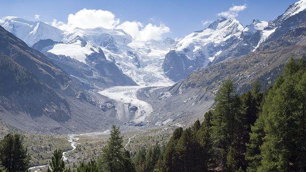 Au temps des glaciers