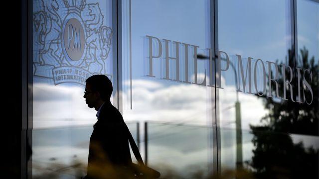 Philip Morris n'a pas tardé à réagir en dénonçant la campagne négative menée contre le groupe par des militants et des organisations [Laurent Gillieron - KEYSTONE]