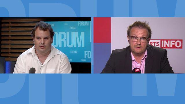 FC Sion: les médias romands dénoncent le boycott du Nouvelliste: débat entre Serge Gumy et Tim Guillemin [RTS]