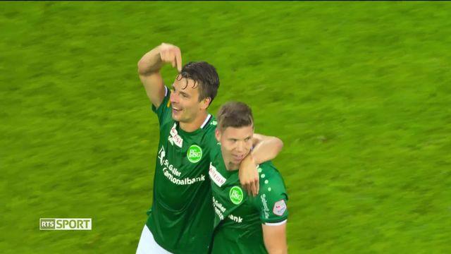 Football, Super League: Bâle - Saint-Gall (1-2) [RTS]
