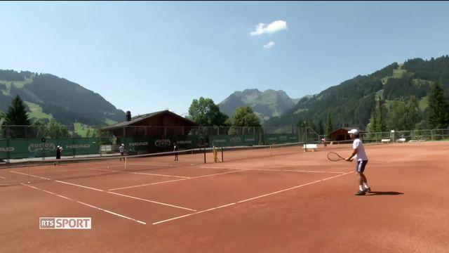 Tennis, ATP Gstaad: le retour sur terre battue [RTS]