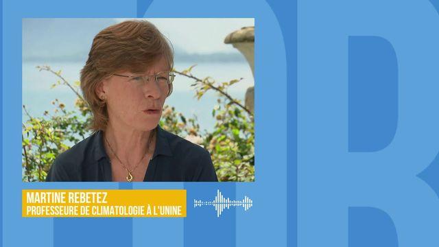 Le réchauffement climatique a renforcé la canicule de 1,5 à 3°C: interview de Martine Rebetez [RTS]