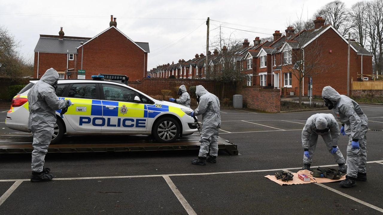 En 2018, Sergueï Skripal et sa fille avaient été retrouvés inconscients à Salisbury. [Neil Hall - Keystone]