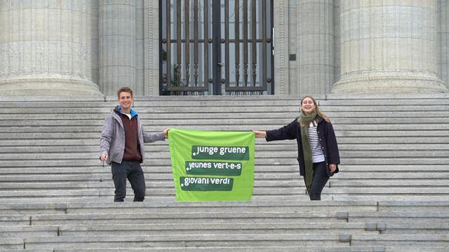 Les Jeunes Verts vaudois rentrent en campagne pour les fédérales. [Jeunes Verts vaudois - Facebook]