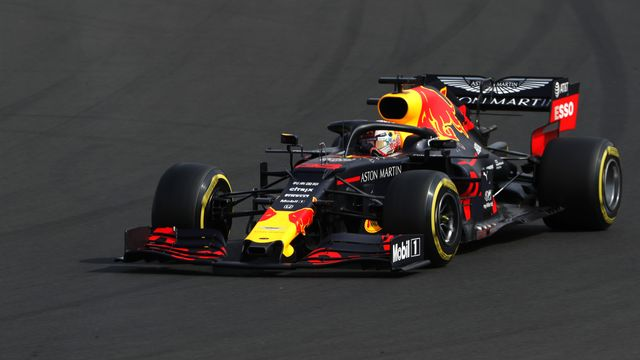Max Verstappen démarrera en pole-position dimanche en Hongrie. [Keystone]
