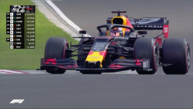 Essais qualificatifs: Max Verstappen signe la première pole position de sa carrière [RTS]