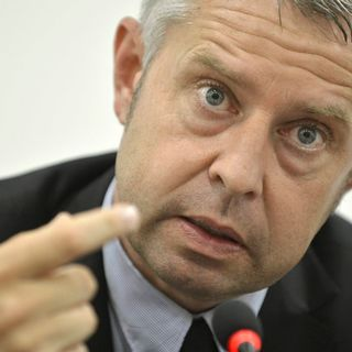 Nicolas Bideau, directeur de Présence Suisse. [Martial Trezzini - Keystone]