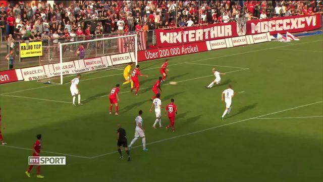 Challenge League: Winterthour - Lausanne-Sport (0-6) [RTS]