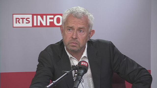 Nicolas Bideau réagit au blocage du sponsoring Philip Morris au pavillon suisse de Dubaï [RTS]