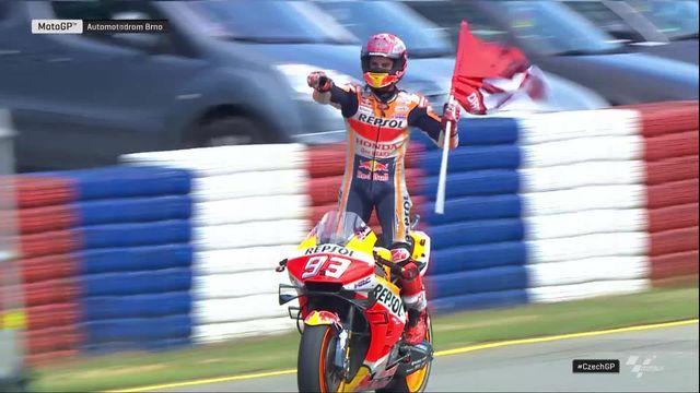 GP de République Tchèque (#10), MotoGP: victoire de Marc Marquez (ESP) devant Dovizioso (ITA) 2e [RTS]