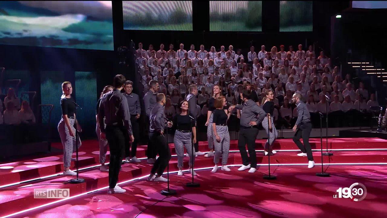 """Les jeunes romands de """"Cake O' Phonie"""" sont repartis bons perdants de Suède, où ils ont participé à l'Eurovision des chœurs [RTS]"""