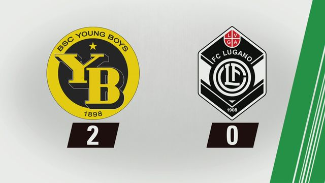3e journée: Young Boys - Lugano (2-0) [RTS]