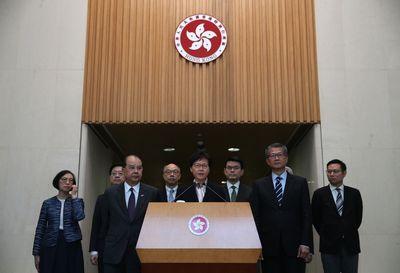 Carrie Lam, cheffe de l'exécutif hongkongais, s'exprime devant la presse le 5 août 2019.