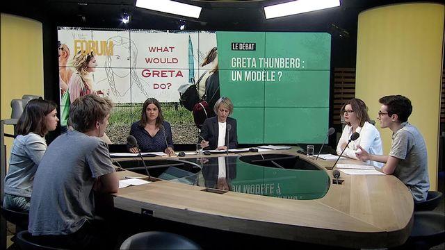 Le débat - Greta Thunberg: un modèle pour la jeunesse? [RTS]