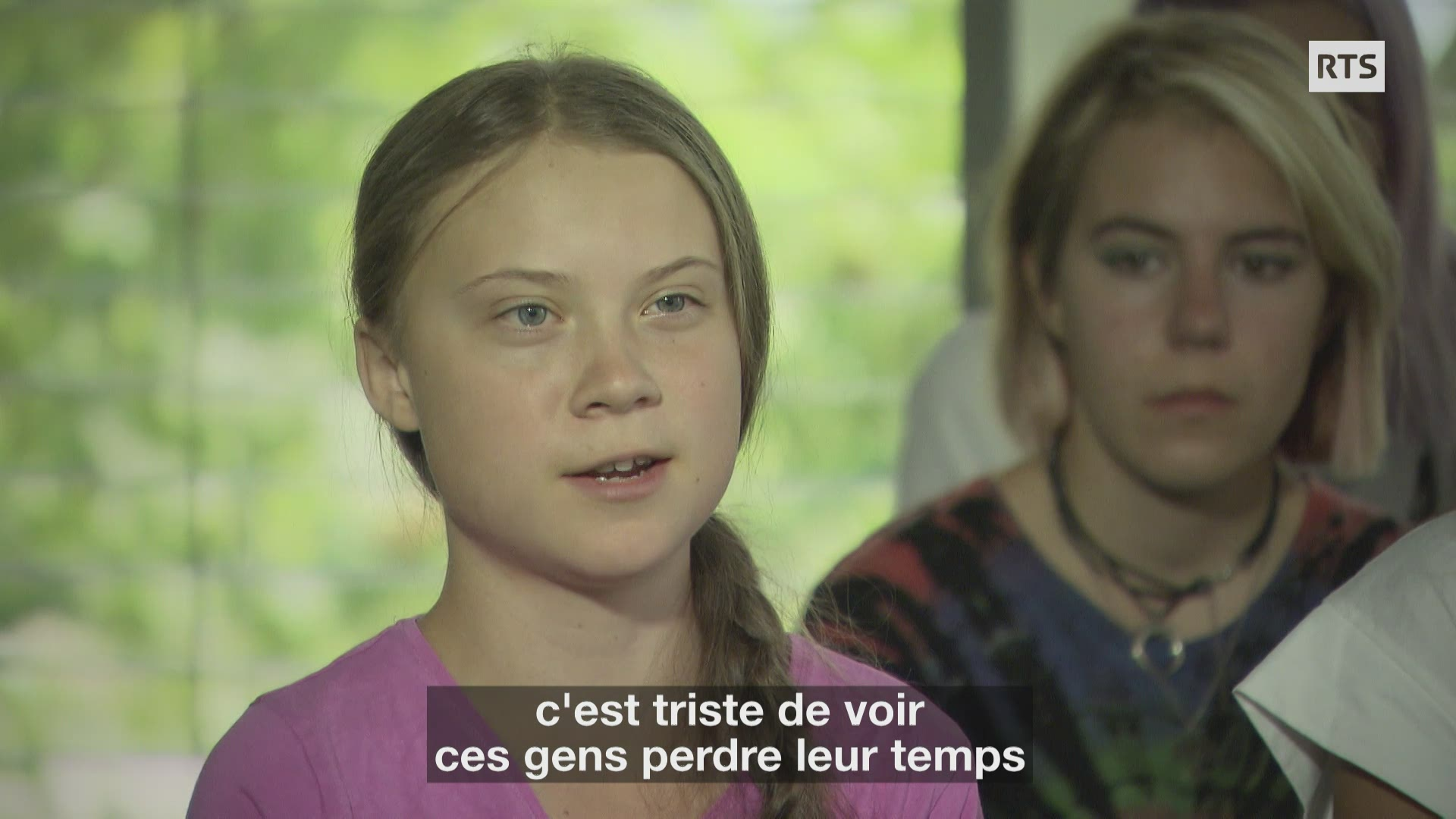 Interview de Greta Thunberg