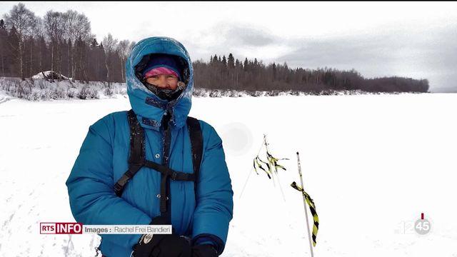 VD: Rachel Frei Bandieri, une ancienne inspectrice de police se lance à la découverte des terres arctiques. [RTS]