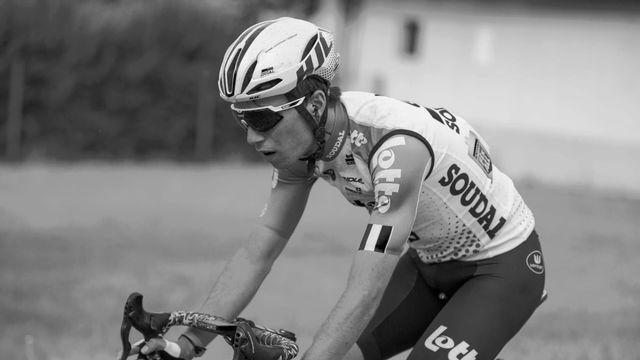 Lambrecht était l'un des grands espoirs du cyclisme belge et de l'équipe Lotto-Soudal. [Twitter - Lotto Soudal]