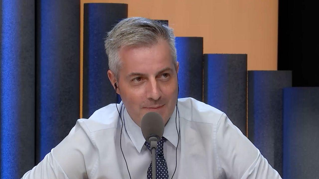 Pierre-Antoine Hildbrand, municipal lausannois en charge de la police, membre du PLR.  [RTS]