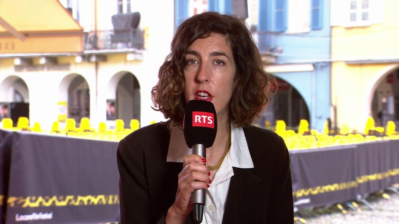 L'invitée de La Matinale (vidéo) - Lili Hinstin, nouvelle directrice artistique du Festival de Locarno [RTS]