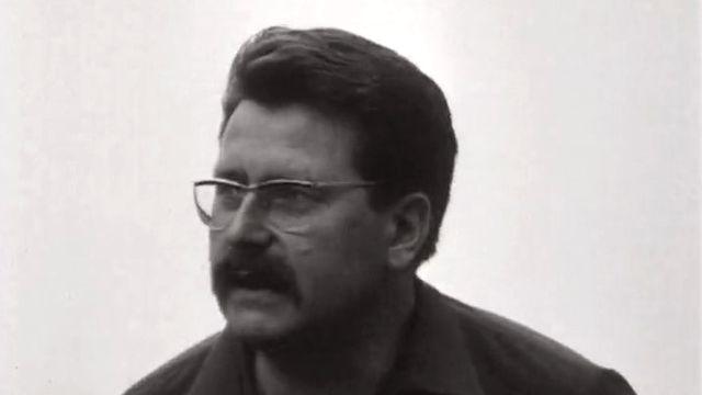 Freddy Buache, co-directeur du Festival de Locarno en 1967. [RTS]