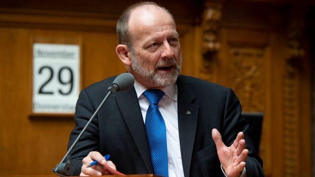 Le PDC fribourgeois Dominique de Buman pourrait bien laisser sa place à un collègue germanophone. [Anthony Anex - Keystone]