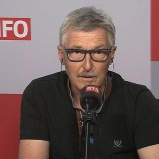 Le directeur du service de l'information de l'OFPC à Genève, Damien Berthod. [RTS]