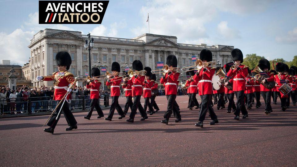Coldstream Guards Band escenic