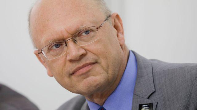 Le climatologue belge Jean-Pascal van Ypersele. [Thierry Roge - Belga Photo/AFP]