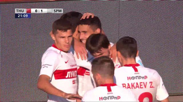 3e tour aller, FC Thoune - Spartak Moscou (2-3): les meilleurs moments du match [RTS]