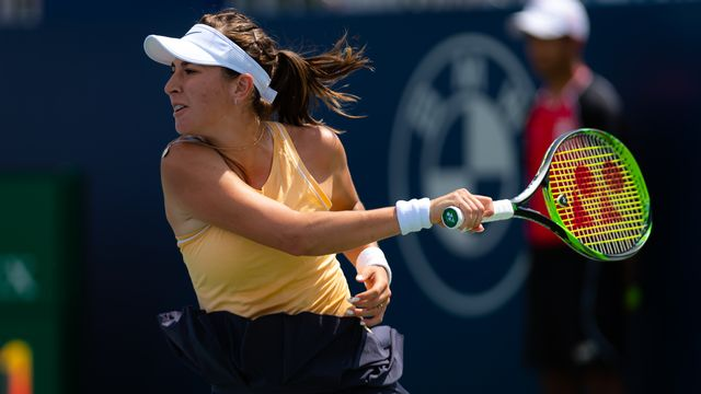 Avant cette partie, Bencic Belinda menait 2-0 dans ses duels avec Elina Svitolina. [Rob Prange - AFP]