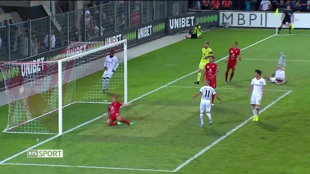 3e tour aller, Vaduz - Eintracht Frankfurt (0-5): lourde défaite pour les liechtensteinois [RTS]