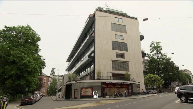 Visite d'un immeuble du Corbusier à Genève inscrit au patrimoine de l'UNESCO [RTS]
