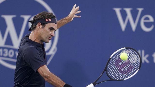 Un tableau compliqué pour Roger Federer. [John Minchillo - Keystone]