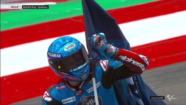GP d'Autriche, Moto2: victoire de Binder (RSA), Luthi (SUI) se classe 6e [RTS]