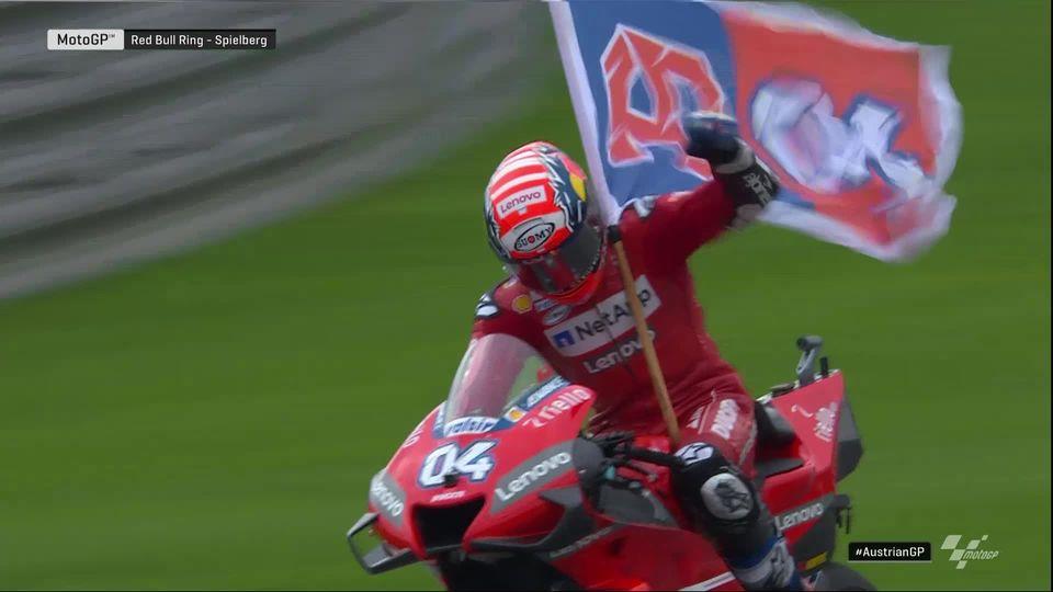 GP d'Autriche (#11), MotoGP: Dovizioso (ITA) s'impose de justesse devant Marquez (ESP) [RTS]