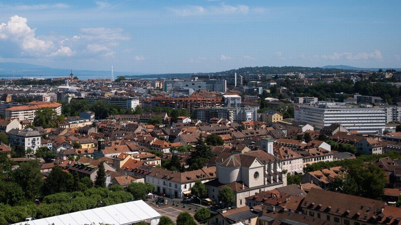 La ville de Carouge vue de haut. [DR - Ville de Carouge]