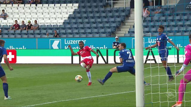 4e journée, Lucerne - Thoune 0-2: les meilleurs moments de la victoire bernoise [RTS]