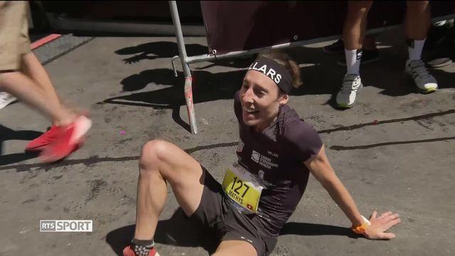 Course de montagne: Sierre-Zinal, Maude Matis bat un nouveau record. [RTS]