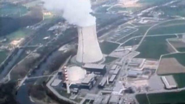 La centrale nucléaire de Gösgen en 1980. [RTS]