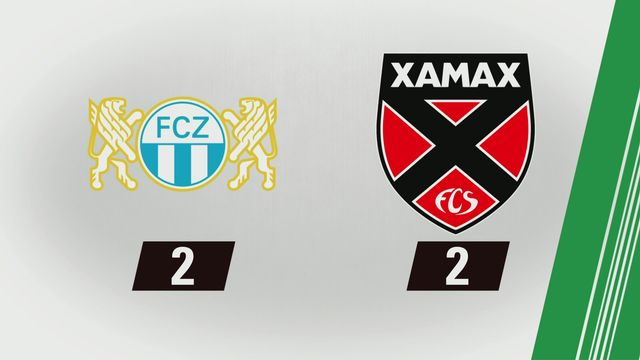 Tous les buts: Zurich - Xamax (2-2) [RTS]