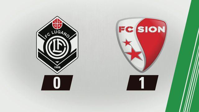Tous les buts: Lugano - Sion (0-1) [RTS]