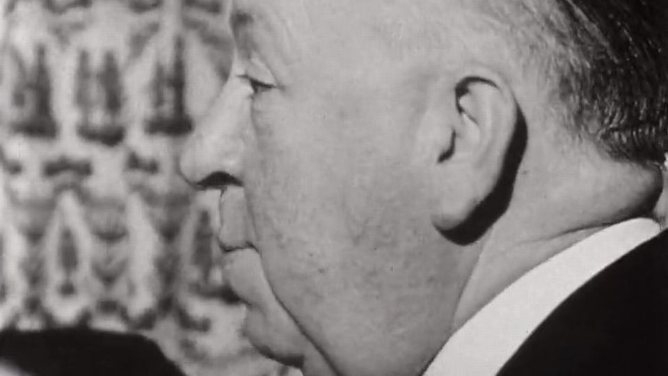 Alfred Hitchcock en 1967. [RTS]
