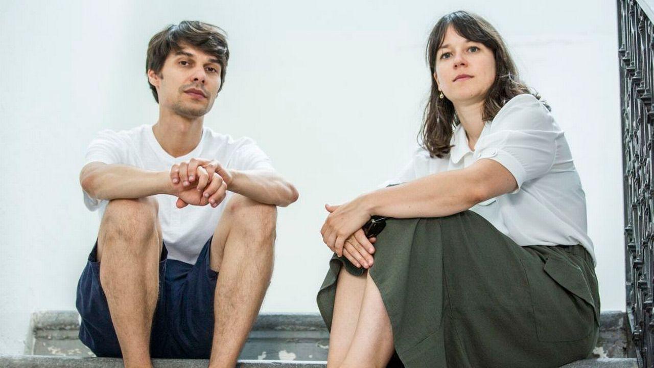 Les réalisateurs Sergio Da Costa et Maya Kosa. [Marco Abram - Locarno Film Festival]