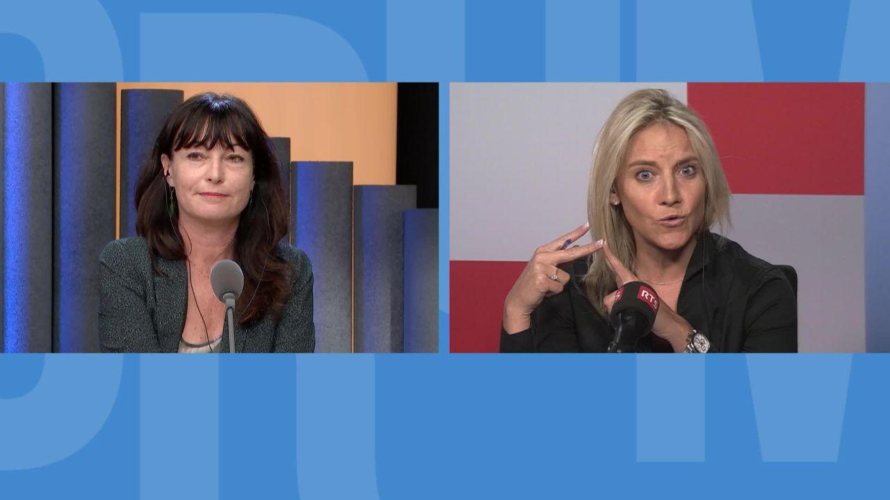 Le féminisme vu par l'UDC: débat entre Céline Amaudruz et Géraldine Savary [RTS]