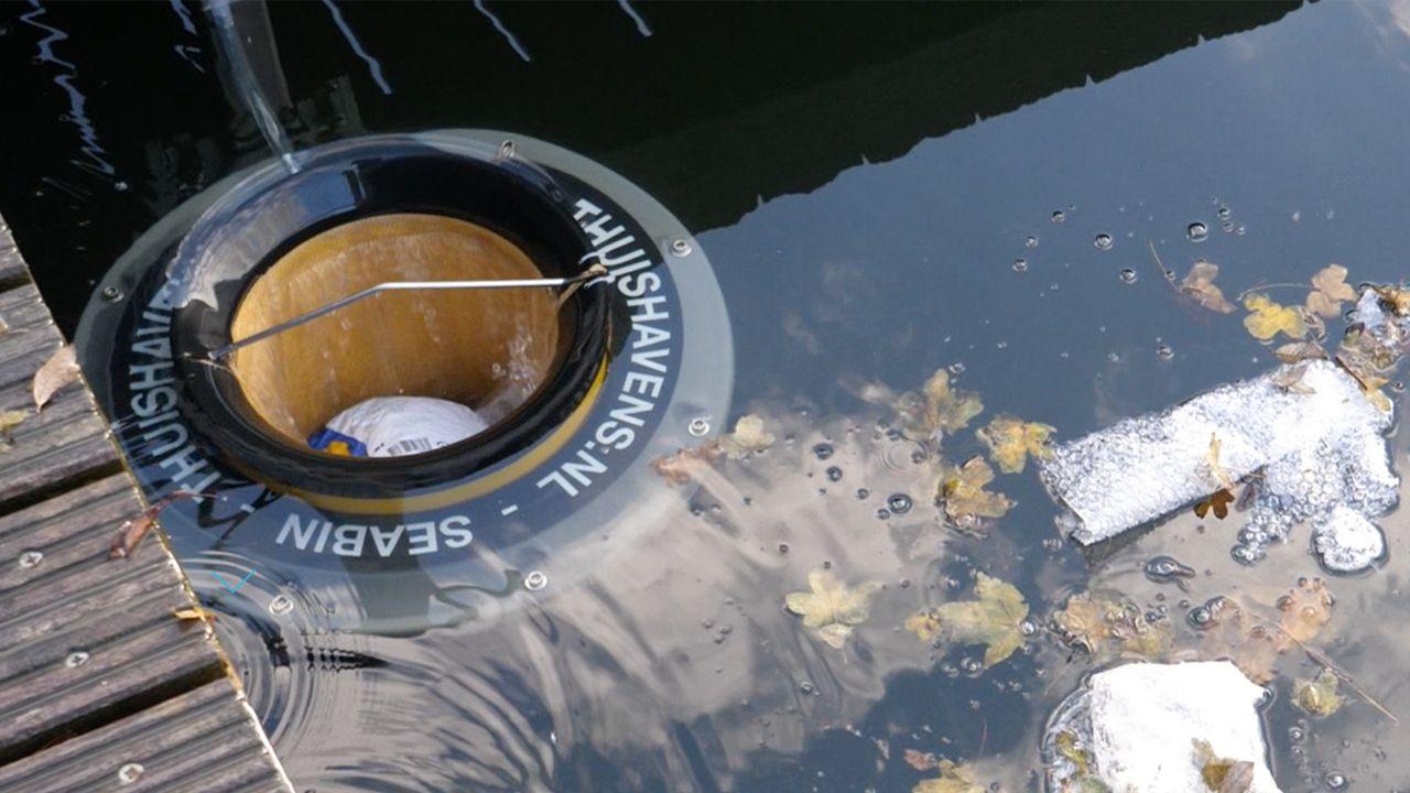 Seabin: Ce dispositif inventé par des surfeurs australiens pour nettoyer l'eau dans les ports débarque dans nos lacs. [Seabin]